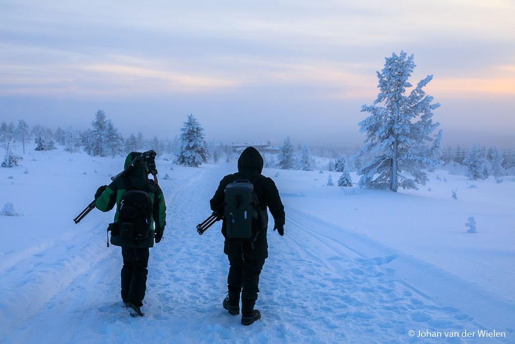 Wandering over Pallastunturi