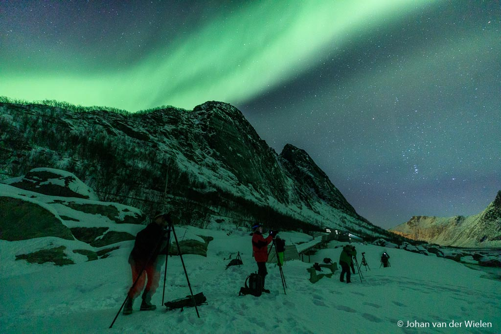 Aurora night at Senja