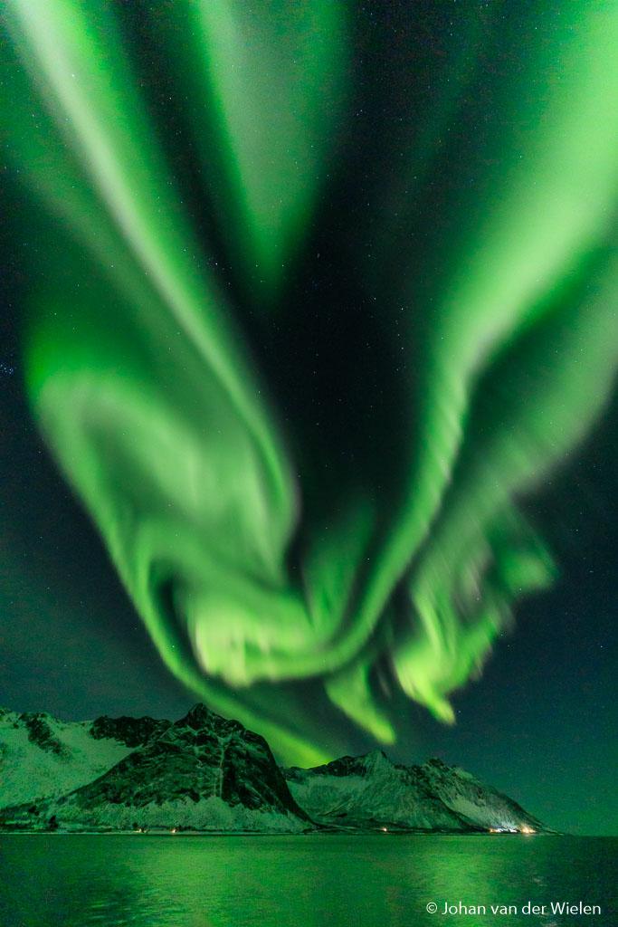 Spectacular Aurora night on Senja