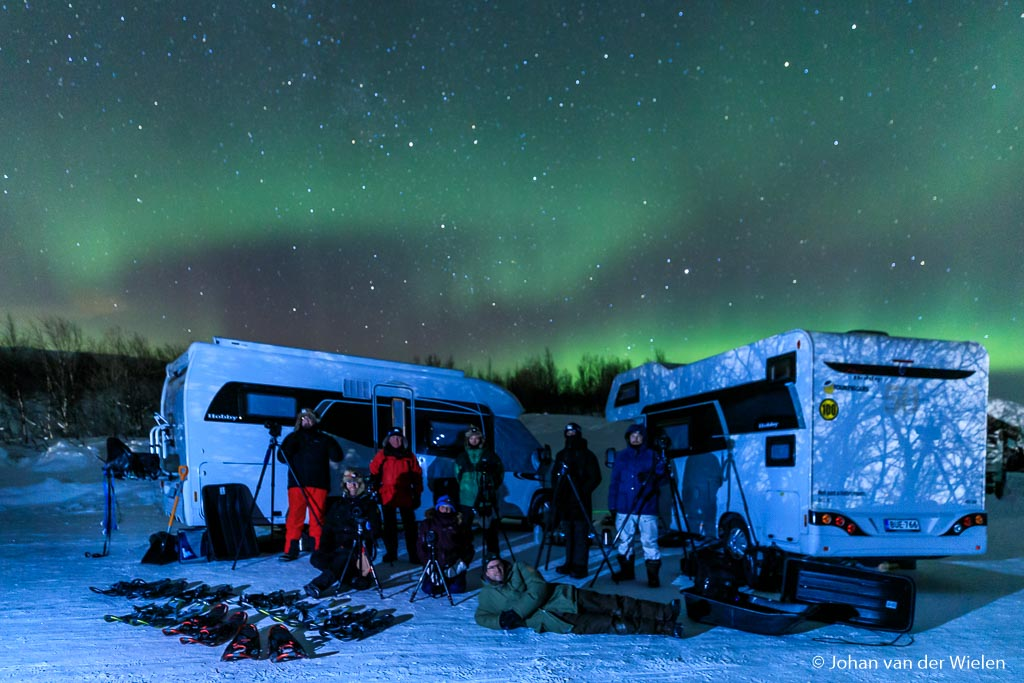 Grouppicture Arctic aurora Chase 2019