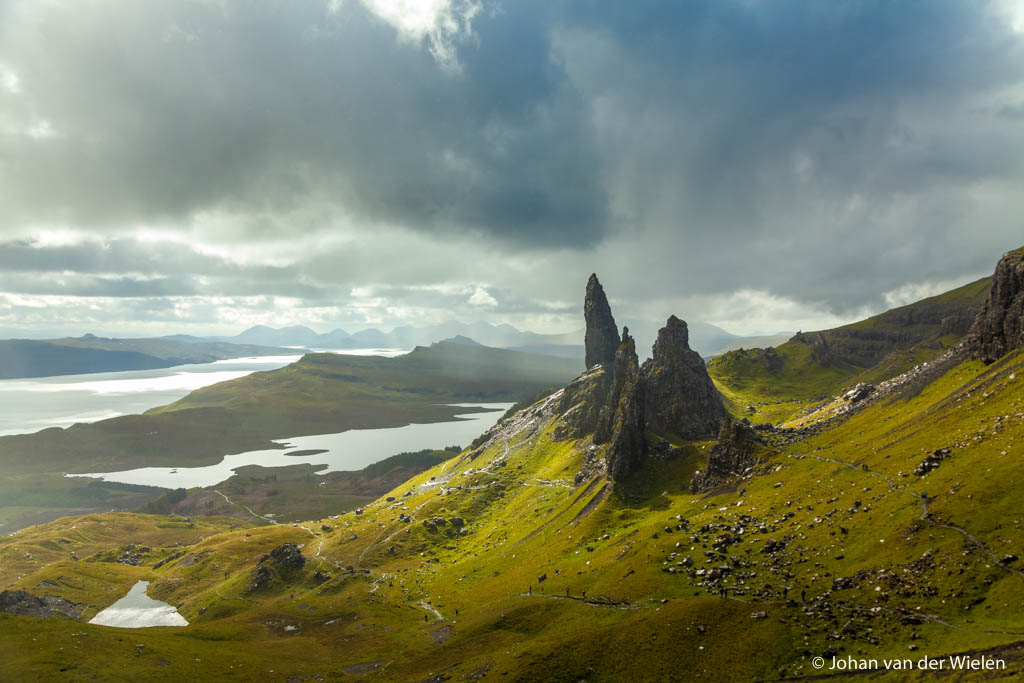 De rotspiek Old man of Storr