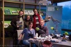 Groepsfoto met Menno Bentveld en Janine Abbring