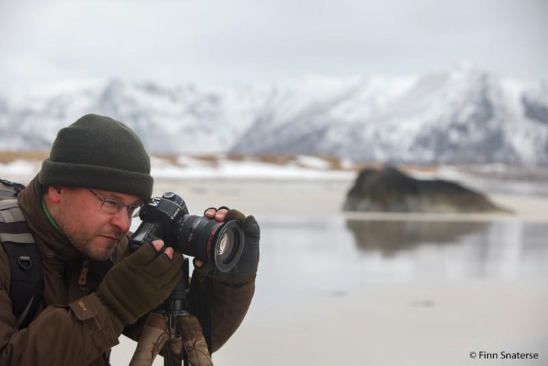Lofoten, winter 2014. Foto: Finn Snaterse
