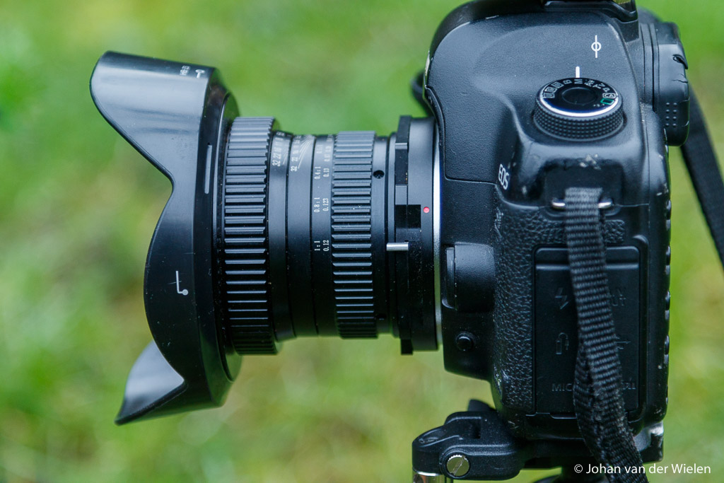 Venus 15mm gemonteerd