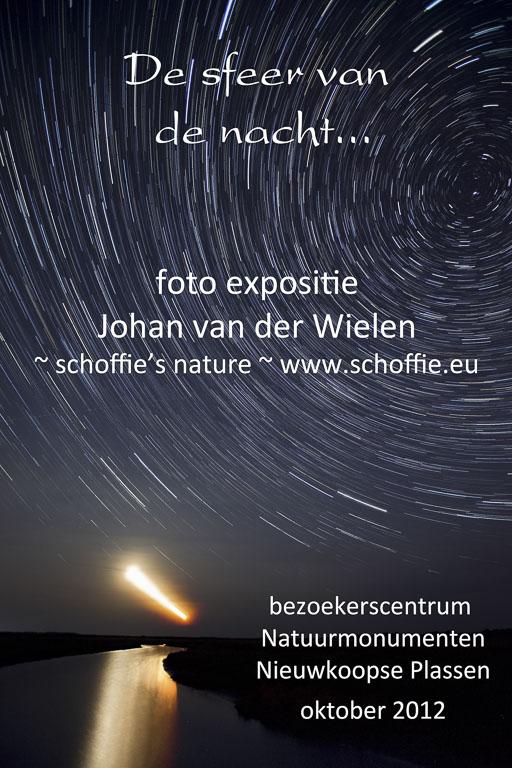 Expositie 'de sfeer van de nacht', Nieuwkoopse plassen, 2012