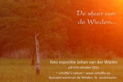 Expositie 'de sfeer van de Wieden'