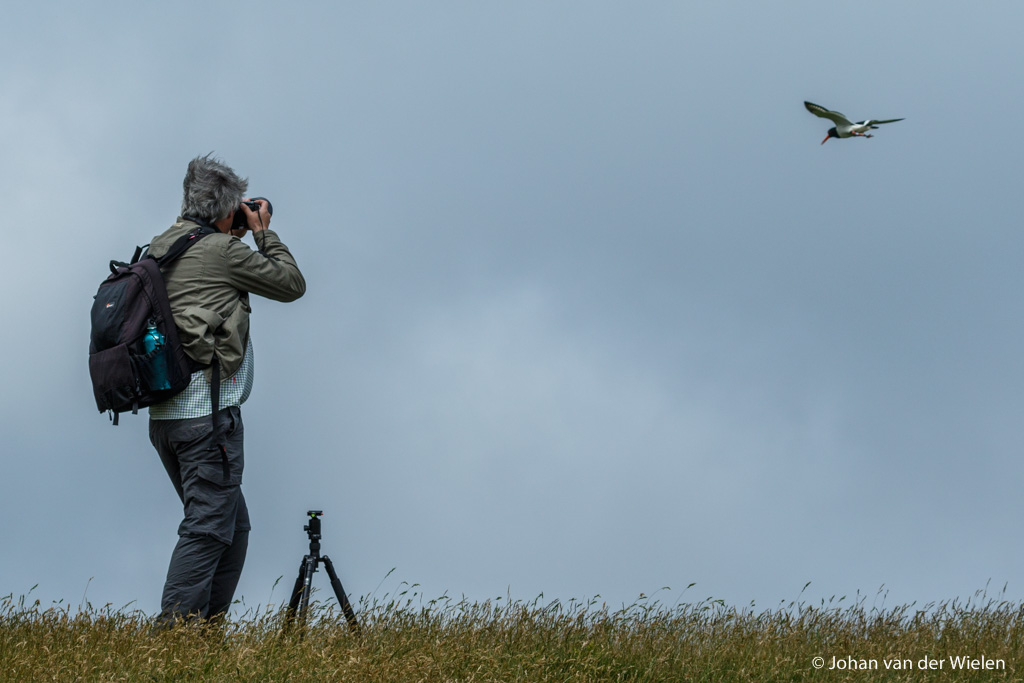Moralistische fotografen wijsheid: de beste camera is degene die je in je hand hebt op het goede moment!