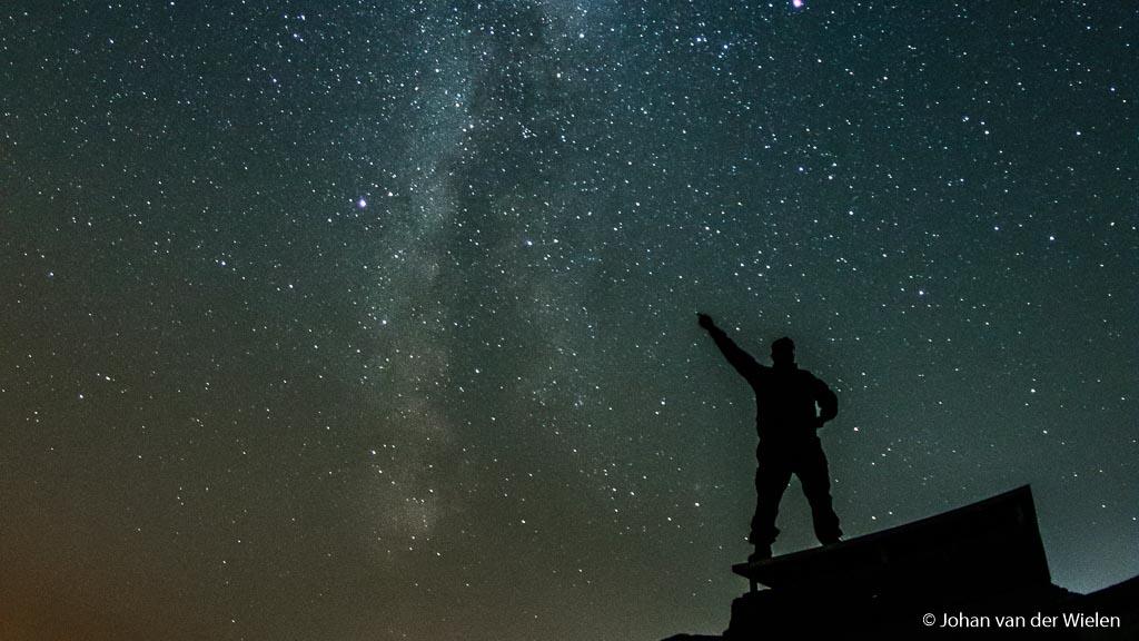 Mijn plek in de nacht!! viva la revolucion!!!