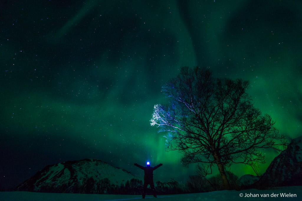 Aurora selfie...