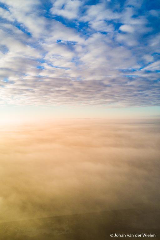 Vliegen tussen de wolken… als een vogel zo vrij!