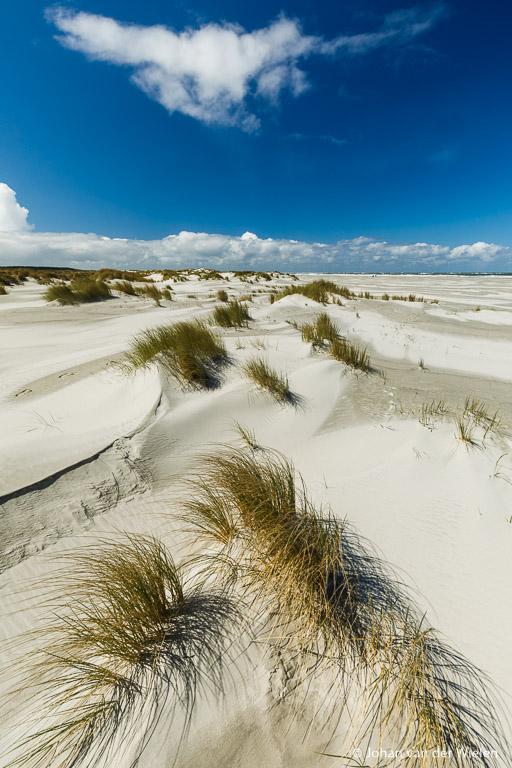 Embryonale duinen met precies dat ene wolkje...