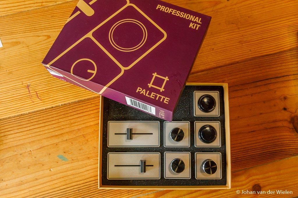 De Palette gear sets komen in mooie doosjes met verschillende samenstelling.