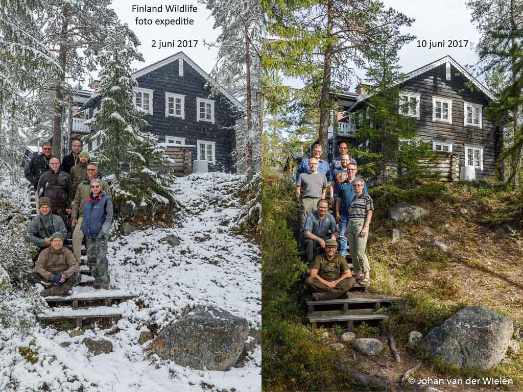2x groepsfoto... met maar een week tijdsverschil!