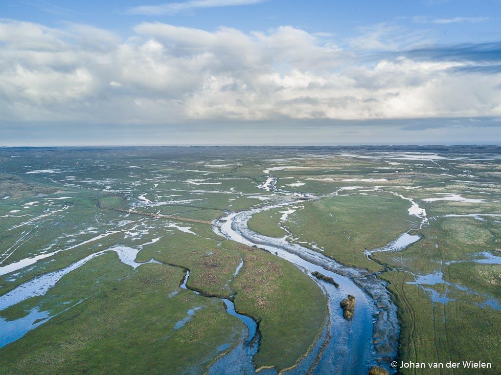 Zo moet Nederland er in de oudheid hebben uitgezien: een delta