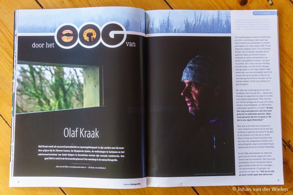 De Oostvaardersplassen 'door het oog van' Olaf Kraak