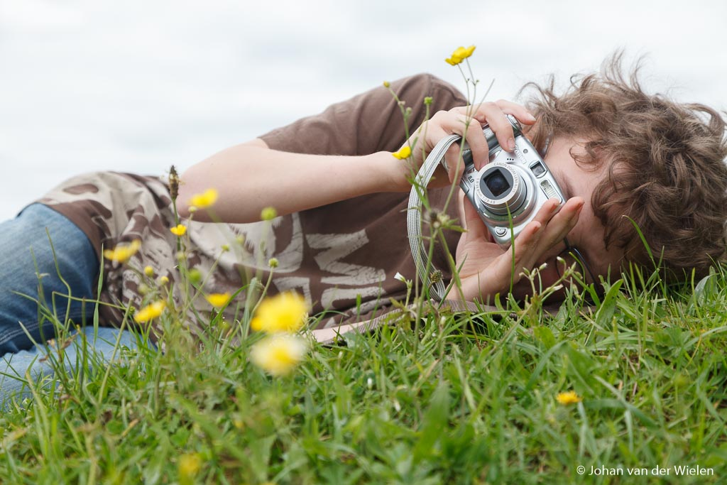 Kinderen zijn dol op natuur en willen alles weten... waarom maken we daar geen gebruik van?