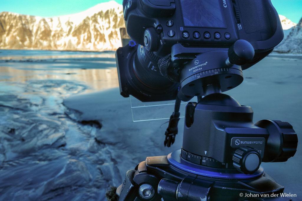 Op één van de mooiste stranden van Noorwegen… Skagsanden, Lofoten