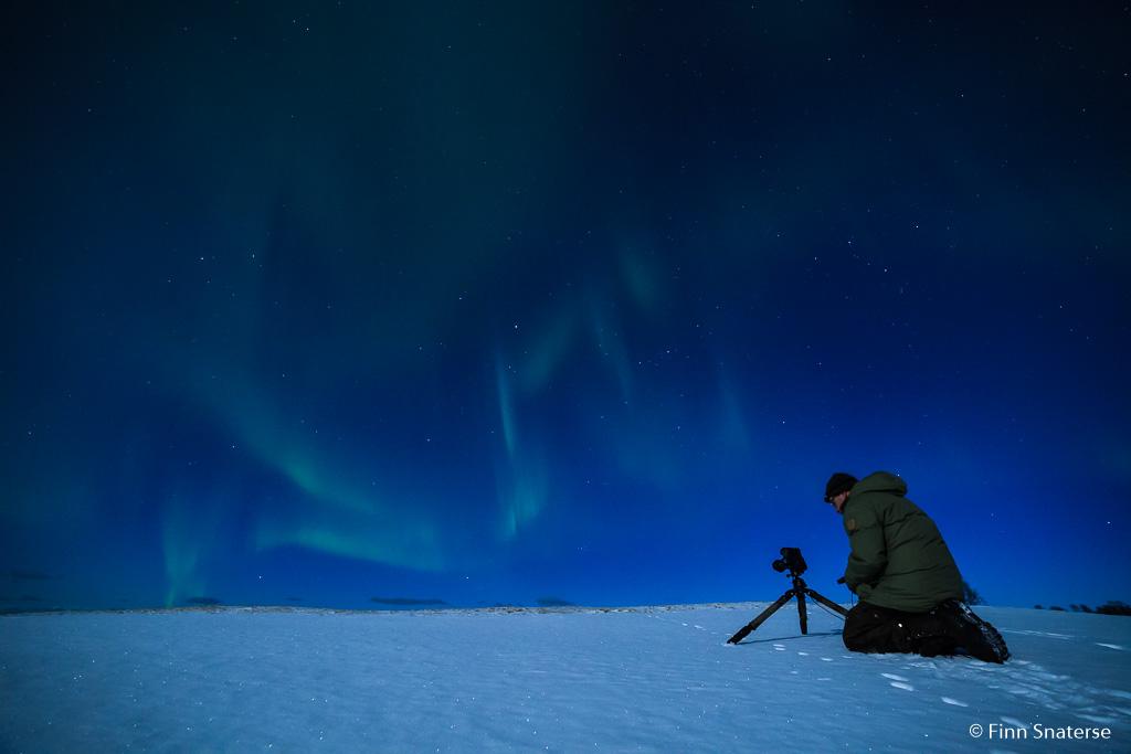Samen op pad in de kou èn nacht…
