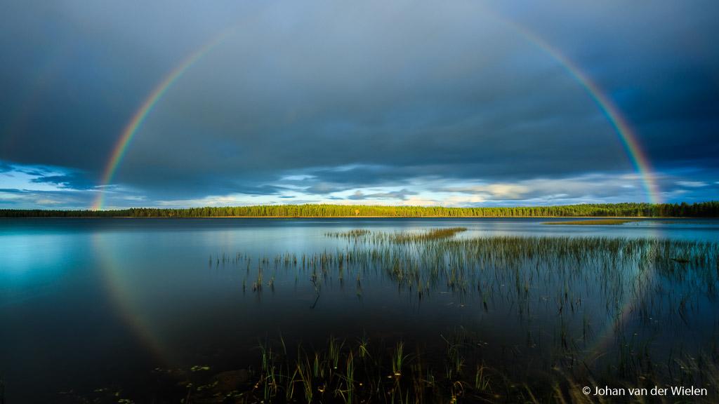 Eerste dag Finland herfstreis 2018 was een goed begin. Het kleine beetje regen zorgde voor een adembenemend landschap met daarin ons kleine herfstboompje. De kleuren zijn overweldigend...