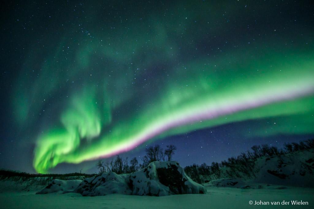 Arctic Aurora Chase, iedere avond op zoek naar de beste plek voor de maximale potentie van het noorderlicht.