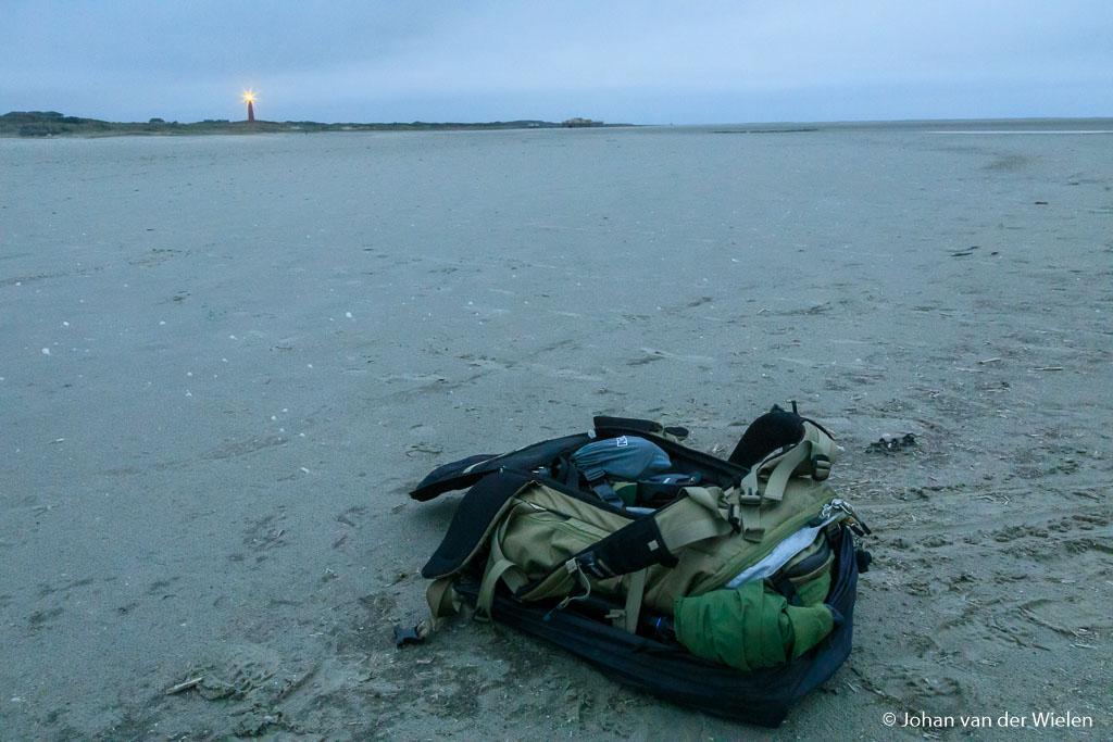 Gewoon op het strand neerleggen zonder risico op zand in je nek en rug.