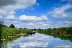 Nationaal Park Wieden-Weerribben: water, Hollandse wolkenlucht, fluisterbootje... en de Sigma 28mm f/1.4 ART