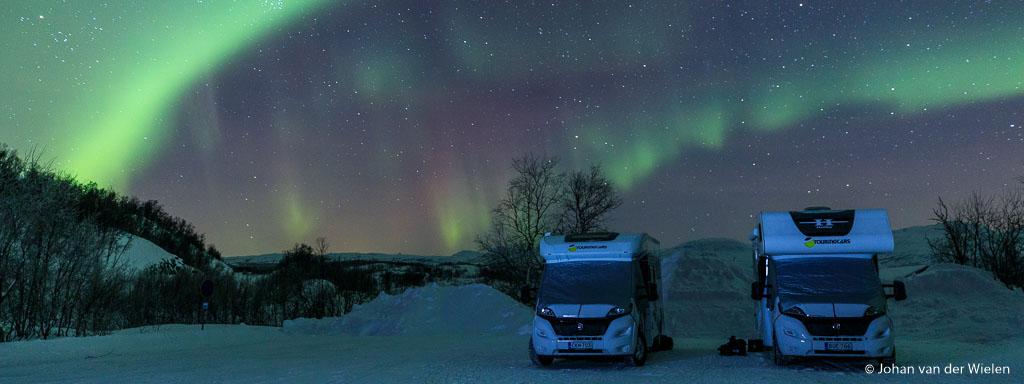 Arctic Aurora Chase 2019, de eerste reis volledig door Taiga travel georganiseerd zonder samenwerking met derden.