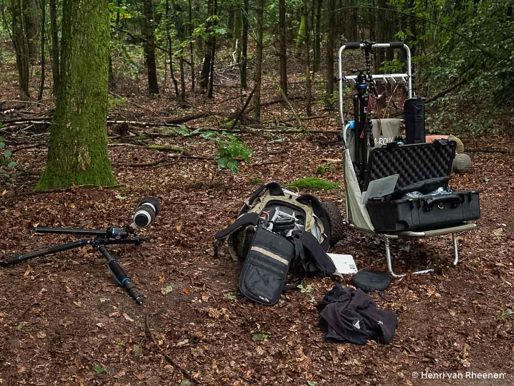 Als je Johan heet neem je werkelijk alles mee het bos in… maar het hoeft niet!