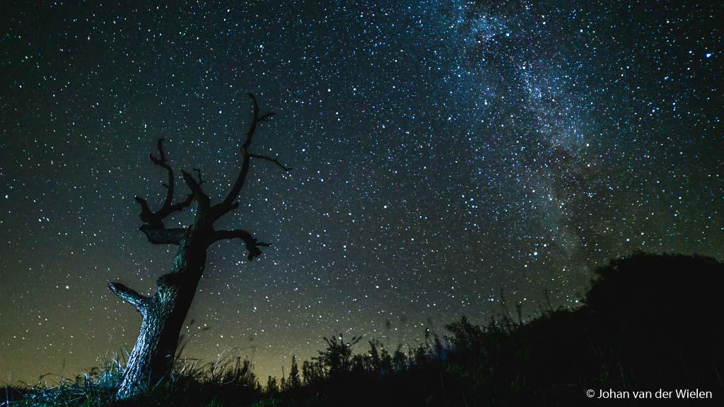 .... en later gebruikt als voorgrond bij de Melkweg.