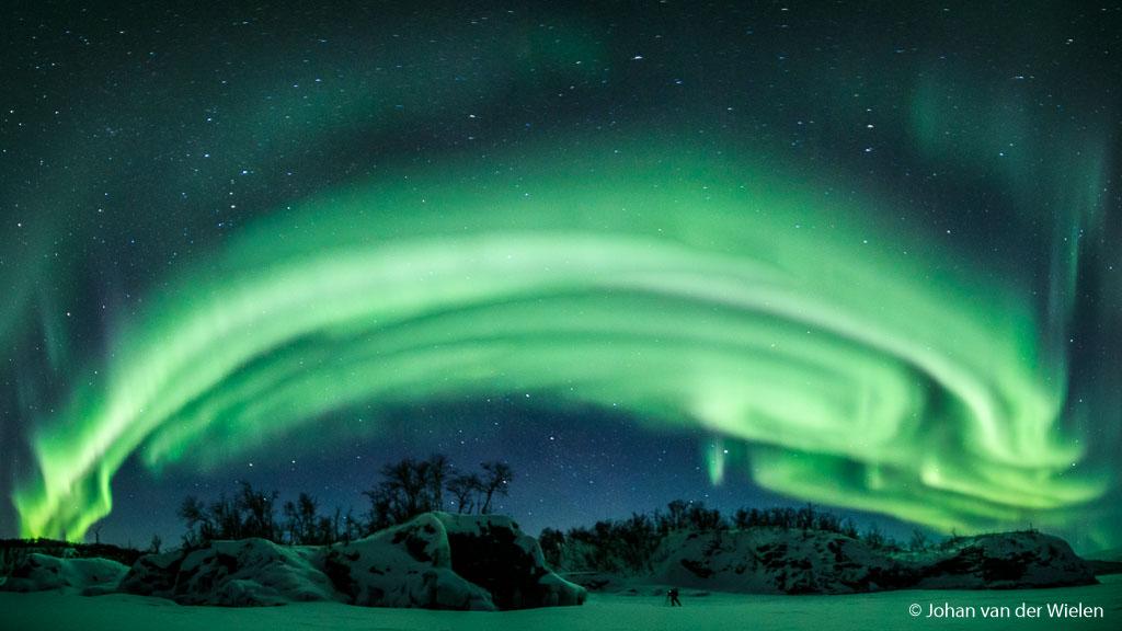 """The night photographer"" - selfie @ Arctic Aurora Chase 2019"